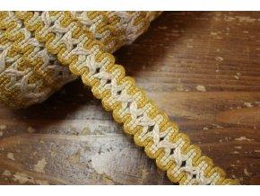Lněná stuha, 30 mm
