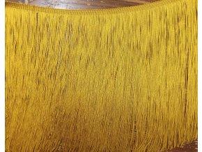 Dlouhé zlaté třásně, 30 cm