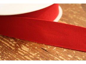 Červená rypsová guma, 35 mm
