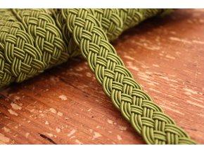 Zelená bordura ve stylu Chanel