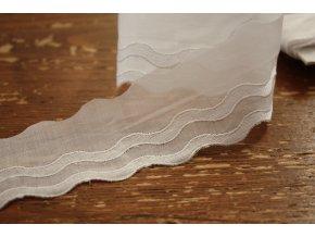 Bavlněná madeira s vlnkami (menší)