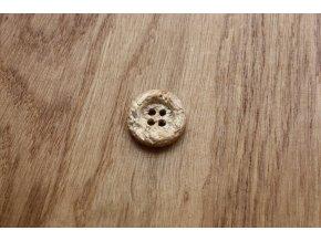 Dřevěný knoflík CNC