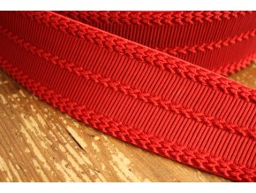 Červená plastická guma, 6cm