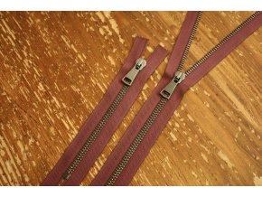 Vřesový zip Raccagni T5, 55 cm, 16cm