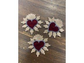 "Aplikace ""srdce"", design Dolce & Gabbana"
