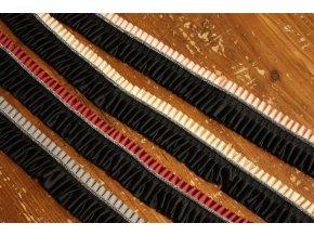 Skládaná bordura, 35mm