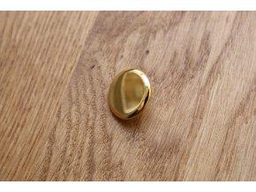 Zlatý kovový knoflík