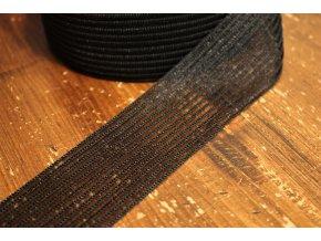 Ozdobná černa guma, 5cm