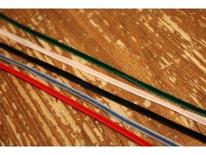 Úžká sametová stuha, 3mm