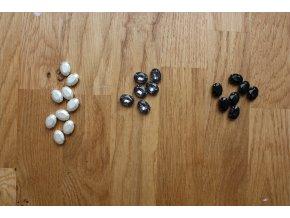 Našívací oválné kamínky