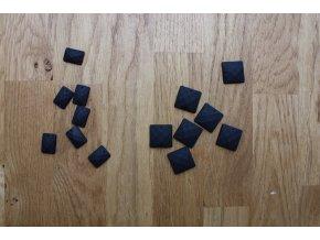 Matné našívací černé kamínky
