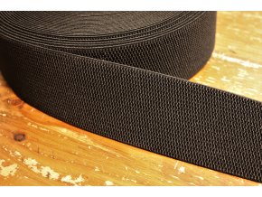 Černá široká guma, 60 mm