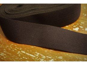 Měkká černá guma, 50 mm