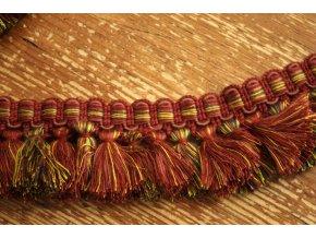 Bavlněný prýmek se střapci, 50mm