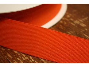 Oranžová rypsová guma, 35 mm