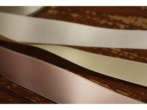 Luxusní oboustranná saténová stuha, 25mm