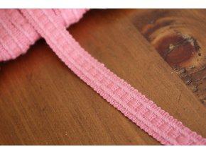 Světle růžový prýmek, 13mm