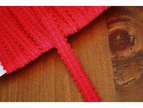 Červený prýmek, 10mm
