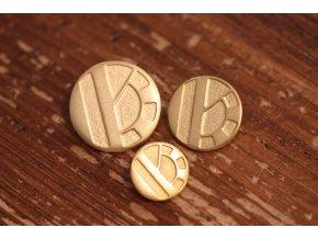 Zlatý knoflík Byblos