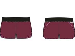 Dámské šortky Alpine pro Hinata LPAL215481 (velikost: M)