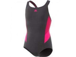 Dívčí plavky adidas BP5761 (velikost: 116)