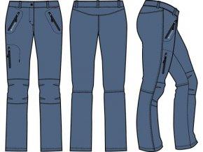 Dámské softshellové kalhoty Alpine pro Muria 2 LPAM132672 (velikost: 38)