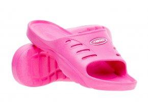 Juniorské pantofle Martes Arona JR Fuchsia (velikost obuvi 30)