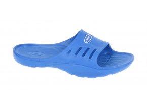 Juniorské pantofle Martes Arona JR Lake Blue (velikost obuvi 28)