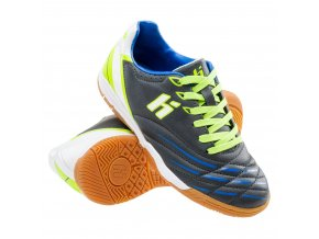 juniorskie buty dani jr ic dark grey lime lake blue white huari