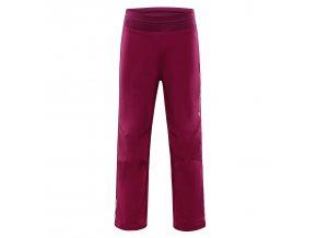 Dětské softshellové kalhoty Alpine Pro Ocio INS. KPAM072814 (velikost: 104-110)
