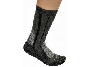 Ponožky  Husky Alpine New černá (velikost: 36 - 40)