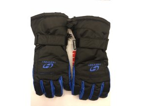 Rukavice Hannah Brion Anthracite/victoria blue (velikost: L)