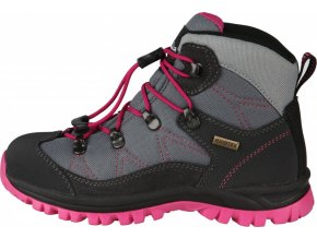 Turistická obuv High Colorado Trek Lite QL šedá/tm. růžová (velikost obuvi 36)