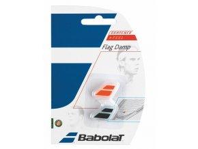 112697 vibrastop babolat flag damp x2 black orange