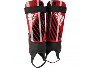 Chrániče adidas X Club DN8614 Actred/black/owhite (velikost: XL)