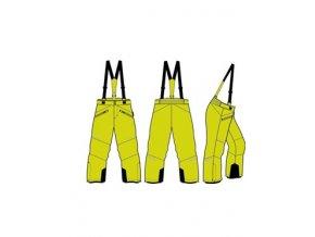 Dětské lyžařské kalhoty Alpine pro Aniko 2 KPAM122564 (velikost: 104-110)