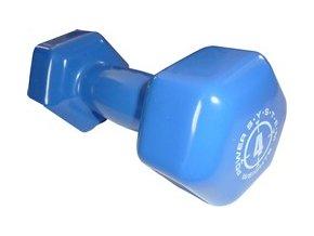 49607 cinka jednorucni vinylova dumbell 4 kg