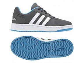 obuv adidas Hoops 2.0 K F35846 (velikost. 3 35,5)
