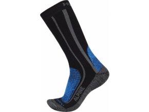 Ponožky  Husky Alpine New modrá (velikost: 36 - 40)