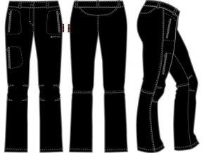 50951 damske soft kalhoty alpine pro muria lpaf027990