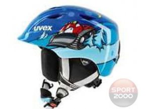 51506 detska lyzarska helma airwing 2 modra snowman 46 50