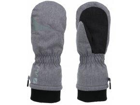 Juniorské rukavice Stuf Noah šedý melír (velikost: 3)