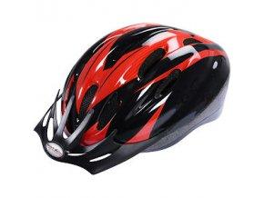 Helma cyklistická High Colorado V 10 černostříbrná