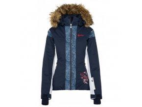 Dámská zimní bunda Kilpi Delia-W tmavě modrá (velikost 38)