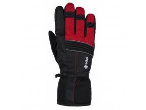 Lyžařské rukavice Kilpi Grant červená (velikost: L)