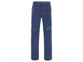 Dětské softshellové kalhoty Alpine Pro Platan 3 KPAN130602 (velikost 116-122)