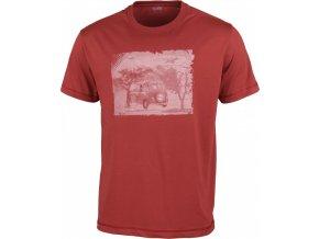 Pánské triko High Colorado GARDA červená (velikost XXL)