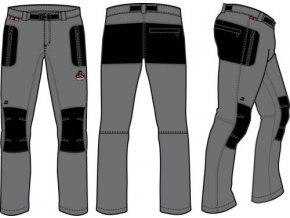 55211 panske kalhoty alpine pro carb mpac002779