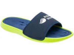 Pantofle Aquawave Peles Blueberry / lime light (velikost obuvi 44)