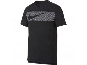 Pánské triko Nike Brt Top Ss Hpr Dry AJ8004 032 černá (velikost L)